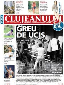 """""""Viaţa Clujeanului"""", coperta viitorului prim număr"""