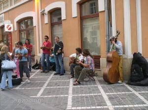 Trubadurii transilvani, pe Corso