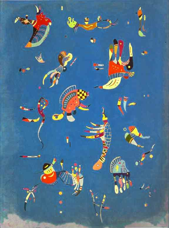 Kandinsky - Cer albastru